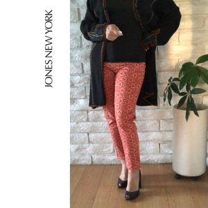 Jones New York-Bleecker Ankle Zip Jeans Sz 12